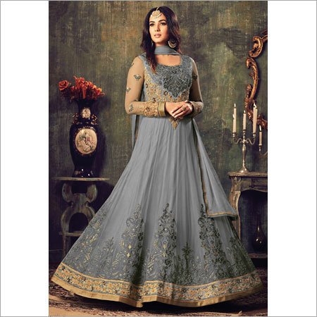 Ladies Hand Embroidered Anarkali Suits