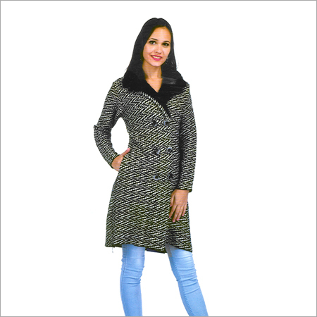 Ladies Woolen Fancy Coat