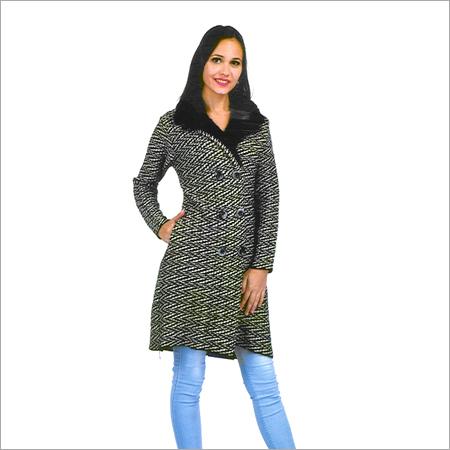 Ladies Woolen Fancy Coat