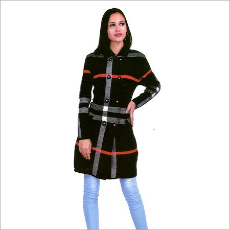 Ladies Trendy Long Coat