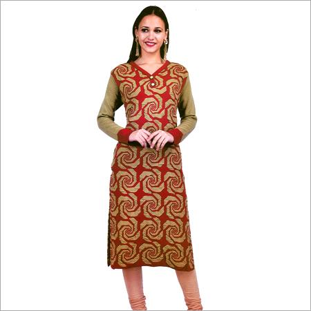 Ladies Woolen Designer Kurtis