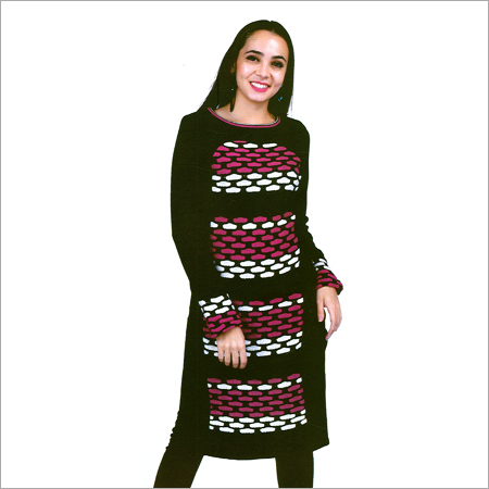 Ladies Long Woolen Kurti