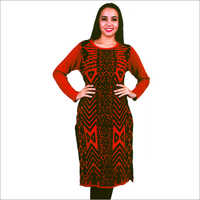 Ladies Woolen Full Sleeves Kurtis