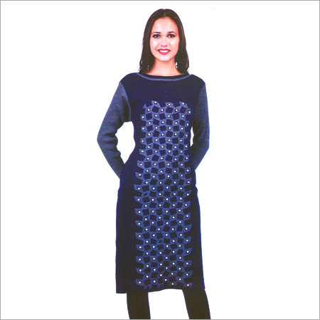 Ladies Round Neck Trendy Kurtis