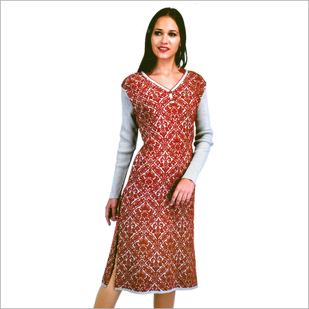 Ladies Designer Knitted Kurtis