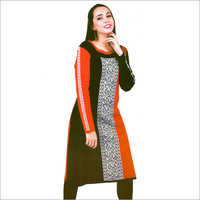 Ladies Full Sleeves Woolen Kurtis