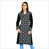 Ladies Printed Woolen Kurtis
