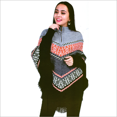 Ladies Woolen Poncho