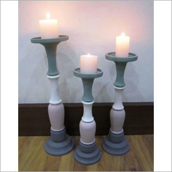 Decorative Wooden Candle Stand
