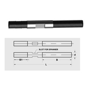 Stud With Slot (Mould Stud)