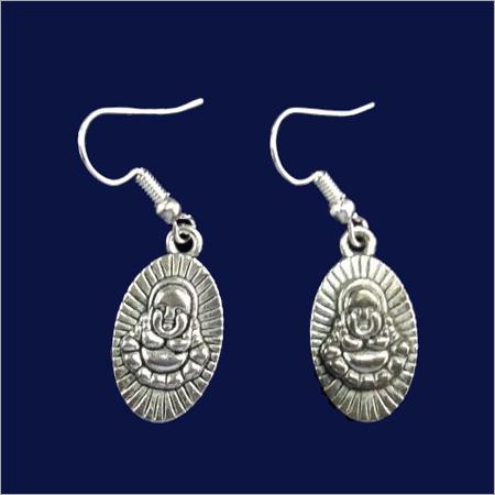 Ladies Antique Metal Earring