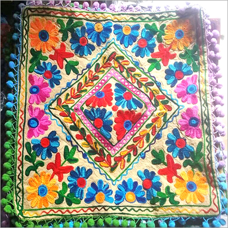 Handcrafted Rajasthani Cushion Cover