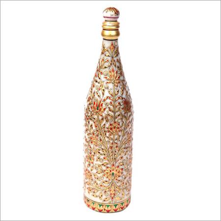Designer Marble Wine Bottles