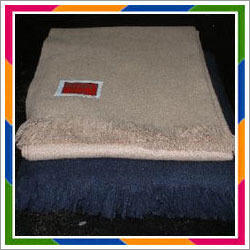 Plain Woolen Throws