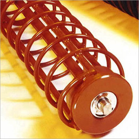 Return Rollers With Helical Steel Cage