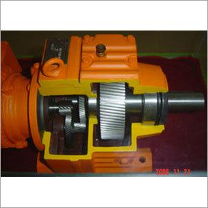 Helical Wheel Speed Down Motor