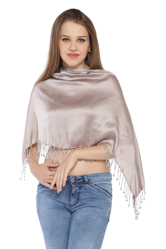 Plain Satin Ruhana Top / Coverup Top / Ponchos