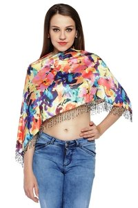Digital Printed  Satin Ruhana  Top