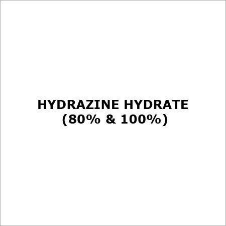 Hydrazine Hydrate (80% & 100%)
