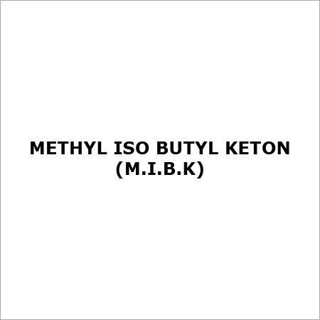 Methyl Isobutyl Ketone (M.I.B.K)
