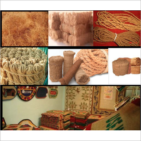 Coir Fibre &  Curled Coir Products