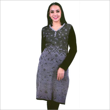 Ladies Designer Woolen Kurtis