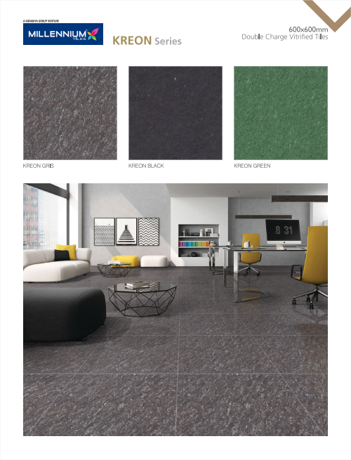 Double Charge Vitrified Tiles