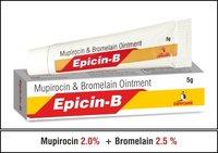 Mupirocin 2.0 %+Bromelain 2.5 %