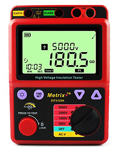Digital Insulation Tester DIT 3125A(Eco)
