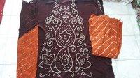 Jamnagar Famous Bandhej Dress Material