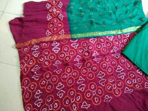 Bandhani Work Dress Material