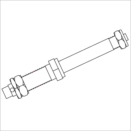 Wheel Chair Axle 185.3g