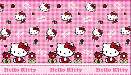 Hello Kitty Flower - Roll Mat