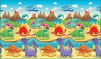 Dino Land - Roll Mat