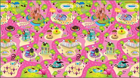 Candy Land - Roll Mat