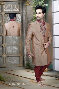 Unique Design Indo Western Sherwani