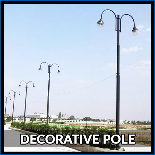 Galvanized Pole