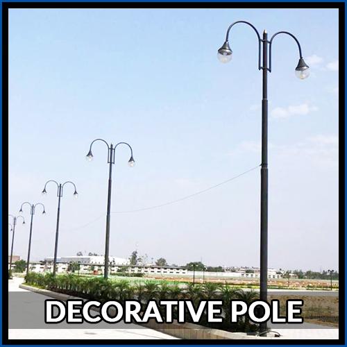 5 Mtr. Outdoor Poles