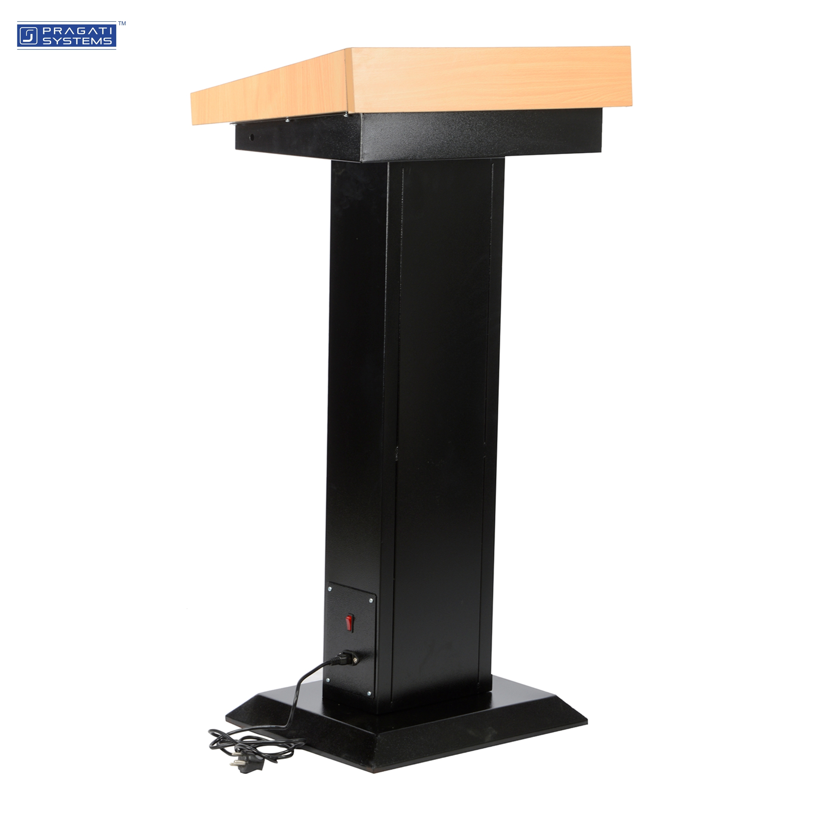 MDF and Steel Podium Stand with Tube Light PDS-02