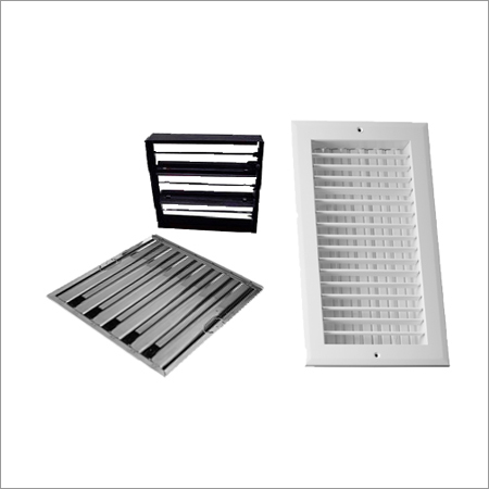 Air Grill with Damper