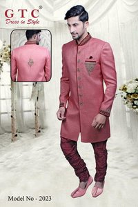 Traditional Mens Indo western sherwani