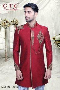 Groom's Designer Indo western sherwani