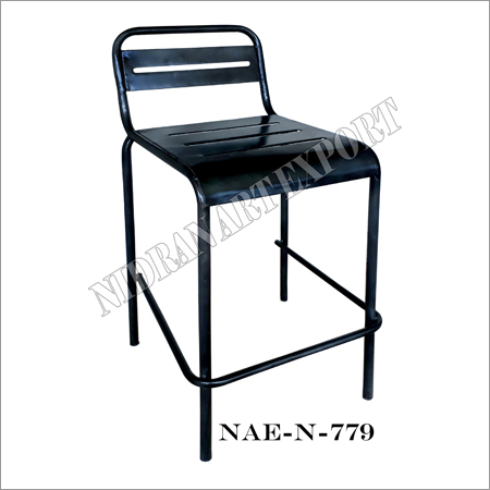 Iron Bar Chair - Black