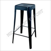 Industrial Cello Bar Stool Black