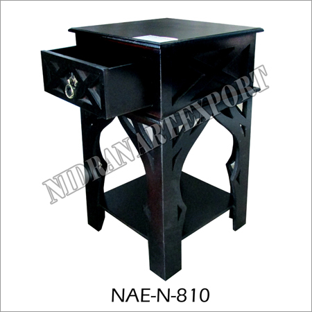 Iron Bed Side Table