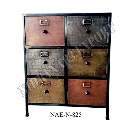 Iron Drawers Chest 6 Drawers