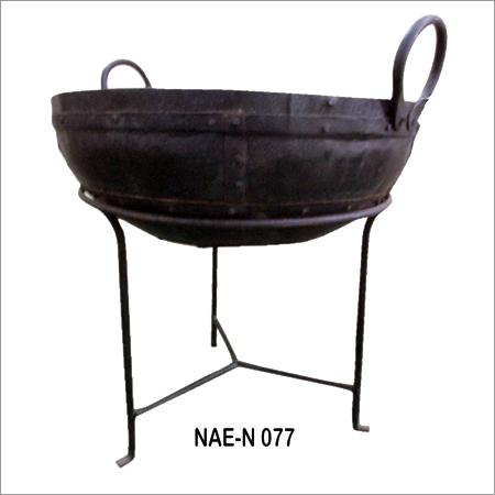 Iron File Bowl Rust