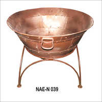 Iron Fire Bowl