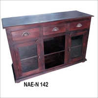 Industrial Wooden Sideboard
