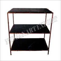 2 Tier Iron Rack